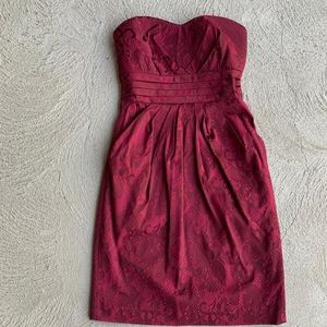Le Chateau - Red Strapless Dress - XXS